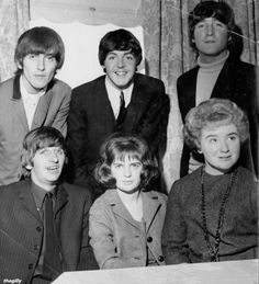 The Beatles at the Clarendon Hotel in Christchurch, New Zealand, 27 June 1964. Photo bought on TradeMe.