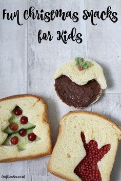 christmas snacks for kids
