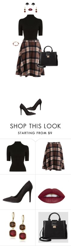 """""""Budget business/casual  8"""" by ms-hinds ❤ liked on Polyvore featuring Oasis, Charlotte Russe, Anne Klein, Who What Wear and Dana Buchman"""