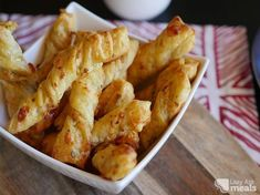 Puff Pastry Cheese Twists