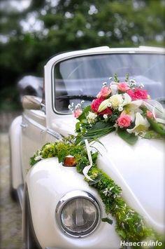 Украшение машин на свадьбу   770 Фото идеи