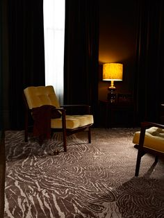 Designer rugs by Alexander McQueen designed exclusively for The Rug Company. Discover dramatic and modern Alexander McQueen rugs for your home today. Alexander Mcqueen, Yellow Cushions, Tapis Design, Rug Company, Living Room Storage, Rugs On Carpet, Carpets, Living Room Inspiration, Living Room Modern