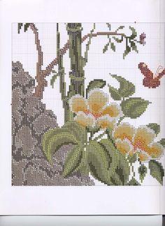 ru / Photo # 3 - 01 - the Ka Butterfly Cross Stitch, Cross Stitch Bird, Cross Stitch Flowers, Counted Cross Stitch Patterns, Cross Stitching, Cross Stitch Cushion, Cross Stitch Collection, Rubrics, Cactus Plants