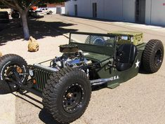 Jeep Wrangler Rat Rod
