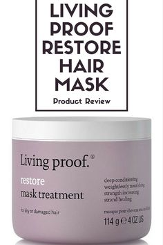 Living Proof Restore Hair Mask Treatment Product Review