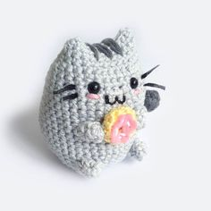 Pusheen the Cat Amigurumi by Toffoletta on Etsy