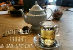 """""""Each cup of tea represents an imaginary voyage"""" Catherine Douzel. Right, @cripedrali?  #mycornerofitaly #tea #teatime #café #cup #tasse #teapot #greentea #relax #relaxing #quote #wanderlust #travel #travelingram #beautiful #amazing #view #italia #travelquotes #instamood #padova #instalike #instagood #blogger #blogging #italianblogger #voyage #simplepleasures #openmyworld #myfavouritethings Simple Pleasures, Wanderlust Travel, Teapot, Tea Time, Tea Cups, Blogging, Relax, Quote, My Favorite Things"""