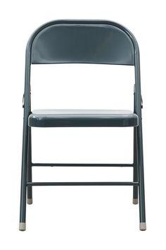 Fold+It+klapstol+-+Retro+mørkegrå+klapstol+fremstillet+i+metal.+Denne+praktiske+klapstol+kan+bruges+som+ekstra+siddeplads+når+der+kommer+gæster+og+nemt+pakkes+væk+igen.+Klapstolen+kan+også+sagtens+anvendes+som+spisebordsstol+grundet+dens+trendy+industrielle+look.+Findes+desuden+i+flere+flotte+farver.
