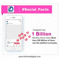 Instagram continues to grow as one of the most popular social media platforms, and the data tells us that it's not going to change anytime soon. Hence Instagram can be a good platform to target your target audience  Talk to us to Promote your Brand on Instagram  📞 +91 80809 20709   #InfomartDigital #Instagram #Insta #SocialMediaPlatforms #OnlinePromotion #InstaPromotion #OrganicTraffic #PPC #Mumbai #Santacruz #NaviMumbai Most Popular Social Media, Target Audience, Mumbai, Platforms, Promotion, Facts, Change, Digital, Instagram