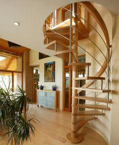 Moderný interiér, výroba kuchýň a nábytku na mieru Stairs, Loft, Bed, Furniture, Home Decor, Ladders, Homemade Home Decor, Ladder, Lofts