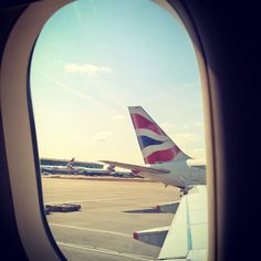 British Airways, travel in comfort and always reach your destination...