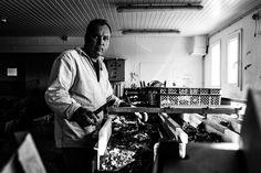 #StreetPortraitOfFranckRose #FranckRose #OystersProducer #serious #CraftMan #BlackAndWhite #IleDeRé #Producer #Oyster #CamilleGabarra © Camille Gabarra #photographer #portrait