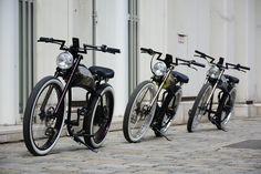 Electric Chopper Bike, Street Food, Bicycle, Motorcycle, Vehicles, Bicycle Kick, Japanese Street Food, Bike, Motorbikes
