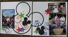 disney layout from convention - Scrapbook.com