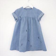 Babydoll denim dress by oh my kids