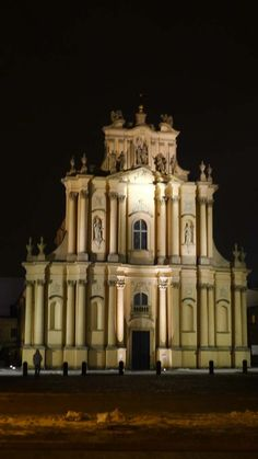 Church of St. Joseph where Chopin used to play the organ, Warsaw