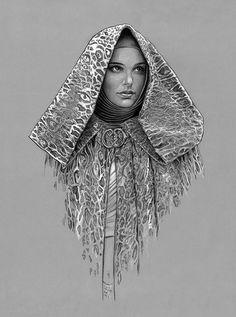 Padme -Tatooine Cloak by jasonpal.deviantart.com on @deviantART