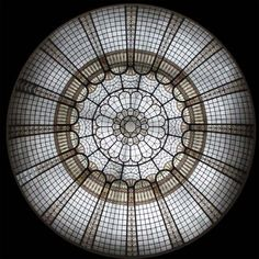 Stained Glass Dome #121