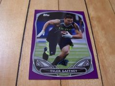 TYLER-GAFFNEY-RC-2014-Topps-Purple-Border-Rookie-Insert-Card-3