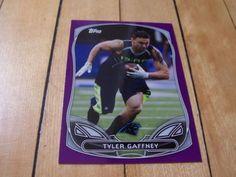 TYLER-GAFFNEY-RC-2014-Topps-Purple-Border-Rookie-Insert-Card-3