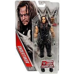 WWE Undertaker Then Now Forever Mattel Wrestling Action Figure Wwf Superstars, Wrestling Superstars, Figuras Wwe, Undertaker Wwe, Wwe Toys, Wwe Action Figures, Stone Cold Steve, Now And Forever, Professional Wrestling