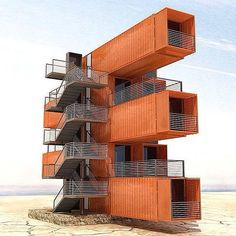 Container Apartments, enjoy life - by @arqkalo #arqkalo #a… | Flickr