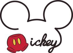 Mickey Title - SVG - Go to www.svgcoop.com to download this SVG for free