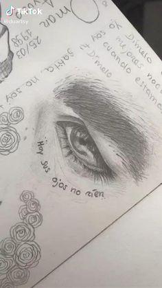Art Drawings Beautiful, Art Drawings Sketches Simple, Pencil Art Drawings, Realistic Drawings, Sketches Tutorial, Arte Sketchbook, Eye Art, Art Tutorials, Paintings