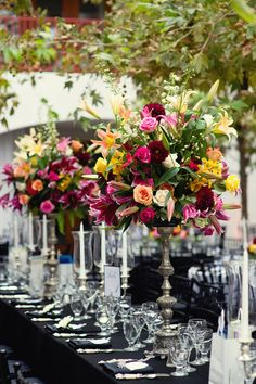 Flower centerpiece, #tablescape ideas, mother's day table decor