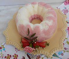 Coisas simples são a receita ...: Bolo gelado de cheesecake e morango