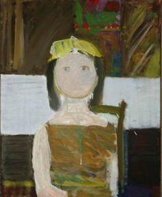girls in yellow hat-olskie muzy Paintings, Yellow, Hats, Creative, Board, Girls, Night, Toddler Girls, Paint