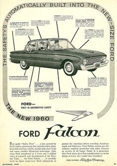 1960 Ford Falcon.  Crazy first car.  Three speed on the column.  What a crappy clutch mine had.