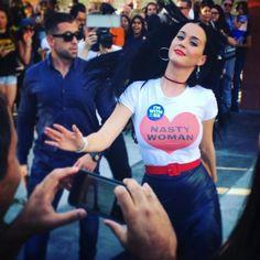 Nasty Woman T-Shirt (women's)