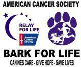 """Relay For Life/Bark For Life logo Dawgs in Motion is excited to be a part of the 2012 """"Bark for Life"""". This is a relay for life  where one can walk with their dog to raise funds for the Southeastern Wisconsin American Cancer Society. Dawgs in Motion Canine Spa and Activity Center will have agility and hunting demonstrations, silent auction, pet portraits, many vendors and great food!"""