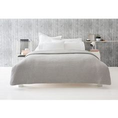 Curtis Coverlet - Queen Bed/King Bed, Grey