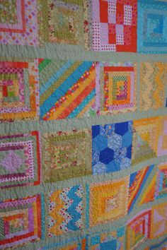 A srappy sampler of brights!