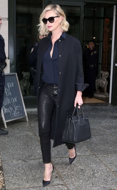 Charlize Theron in NYC.