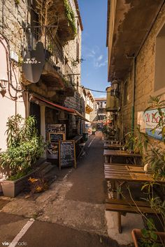 Porto-Vecchio, Corsica, France. Beautiful narrow streets of Corisca and much more over at theculturetrip.com