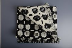 Traditional Welsh tapestry blanket