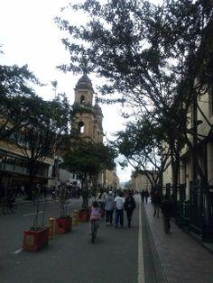 calle real de santa fe de bogota