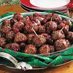 Christmas Meatballs Recipe