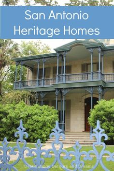 historical homes in the king william district of san antonio tx rh pinterest com