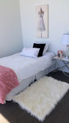 Style Box, Staging, Room Inspiration, Shag Rug, Rugs, Bed, Interior, Furniture, Home Decor