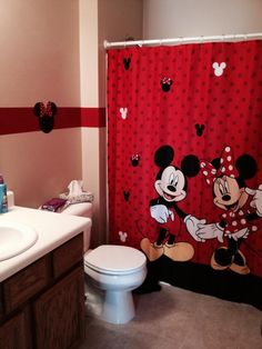 Mickey Minnie Bathroom Picture 2
