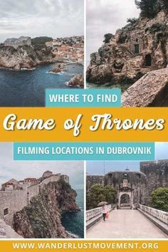 As the world gears up for the finale of Game of Thrones, I finally made it to the ultimate fangirl destination of the TV series – Dubvronik, Croatia. With only in the city, I scrambled to see as much of King's Landing as possible and immerse myse Croatia Itinerary, Croatia Travel, Dubrovnik Croatia, Europe Travel Guide, Europe Destinations, Travel Guides, Amazing Destinations, Lokrum Island, Game Of Thrones Locations