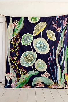 Waterblooms Rug - anthropologie.com #anthroregistry