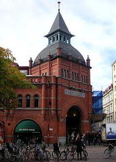 Östermalms Saluhall, Stockholm.
