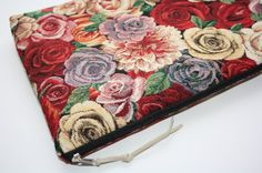 Red Roze  MacBook Air 13 sleeve with zipper, MacBook Air 13 Sleeve, MacBook Pro…