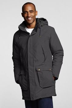 Lands' End Men's Regular Insulated Squall Parka 40750-7AE0