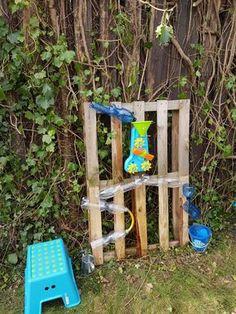 water wall - diy wasserspiele für kinder | schnickschnack, Terrassen deko
